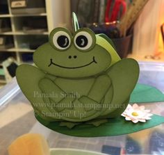 Curvy Keepsake Frog by Pamala - Cards and Paper Crafts at Splitcoaststampers