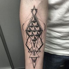 The Beauty of Geometric Art Tattoos (20)
