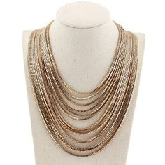 Statement Necklace Designer Chain Dinner Outfit