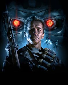 BROTHERTEDD.COM - imthenic: Terminator 2: Judgement Day by Brian... Edward Furlong Movies, Sci Fi Movies, Good Movies, Mortal Kombat, John Connor, Terminator Movies, Sci Fi Thriller, Kino Film, Movie Poster Art