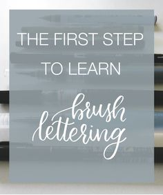 """One of the things that people tell me the most often is this: """"I've been really wanting to start learning calligraphy, but I just don't even know where to begin!"""" I totally …"""