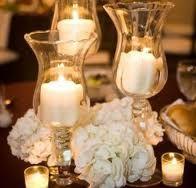 Candle & pomander centerpieces