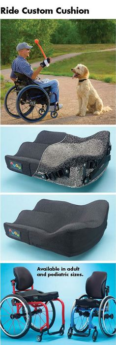 Ride Designs Custom Wheelchair Cushions and Backs contoured force isolation high Handicap Equipment, Adaptive Equipment, Wheelchair Cushions, Manual Wheelchair, Wheelchair Accessories, Mobility Aids, Mobiles, Crutches, Assistive Technology