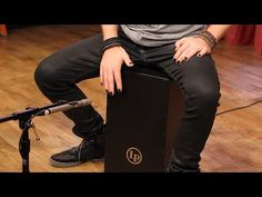 How to Play Cajon with Mike Bennett - YouTube