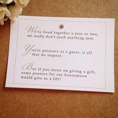 Gift Poems For Wedding Invitations Memcatch