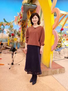 松井愛|今週の衣装|せやねん!|MBS毎日放送 Dresses, Fashion, Vestidos, Moda, Fashion Styles, The Dress, Fasion, Dress, Gowns