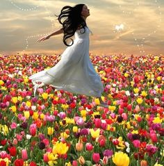 I Love Fields of Flowers :)
