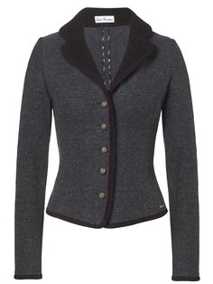 So want a dark grey jacket to go with my hat! Walkjacke of Julia Trentini model Gwendolin Grey