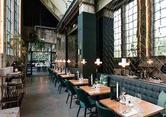 Sammi in Roermond - Misset Horeca Restaurant Design, Bar Restaurant, Bar Design Awards, Coffee Restaurants, Interior Design Boards, Bar Lounge, Cafe Design, Commercial Design, Luxury Living