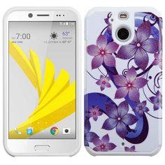 MYBAT Neo Astronoot HTC BOLT Case - Purple Hibiscus Flower