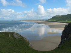 RHOSSILLI, GOWER, one of the best beaches to walk and (according to my tougher friends who have hot blood) surf and swim!