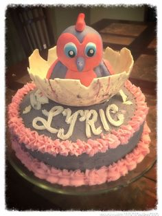 Hatchimal Party Cake
