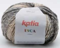 Katia Azteca (Inca) is a super chunky yarn made up of 53% wool and 47% acrylic. It is variegated and available in rich colorways. It works well for sweaters,coats and accessories for the whole family.  This is a fantastic yarn for quick gifts too.