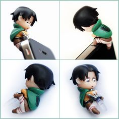 Attack on Titan earphone jack dust plug - Levi  OMFG DO YOU UNDERSTAND HOW BADLY I NEED THIS!?