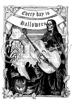 ad12bbbfc769 Every Day Is Halloween Type O Negative by ShadowsOfTheWorld Negative  Tattoo