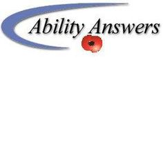 Welcome to Ability Answers - the user-friendly web-site that provides you with the easy key to accessibility.    We offer a wide range of products including daily living aids such as extra large big button remote controls, writing aids, personal care aids, kitchen and eating aids, making life more manageable and enjoyable for the elderly and the physically disadvantaged.
