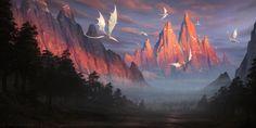Trail of the Gods by ~DeivCalviz on deviantART