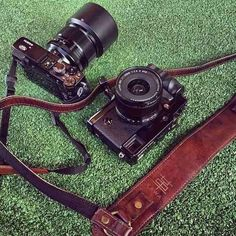 Shoutout to @rrcipriano from Manila with his combo essentials, Fujifilm with the KAWA Pro Strap Classic Lux Brown. Thanks for sharing
