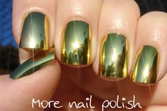 More Nail Polish: 31 Day Challenge - Day 8 - Metallic