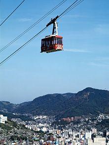 (Nagasaki) Must do this next time.  http://www.nagasaki-ropeway.jp/