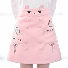 "Pink cute bunny skirt SE9182   Coupon code ""cutekawaii"" for 10% off"
