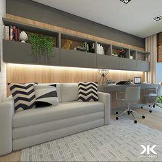 Raquel Bic. (@quelbbiic) • Fotos e vídeos do Instagram Office Sofa, Office Decor, Living Room Inspiration, Home Interior Design, Couch, Bedroom, Decoration, Furniture, Home Decor