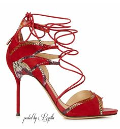Regilla ⚜ Alexandre Birman suede sandals  www.reverbnation.com/mrslic404