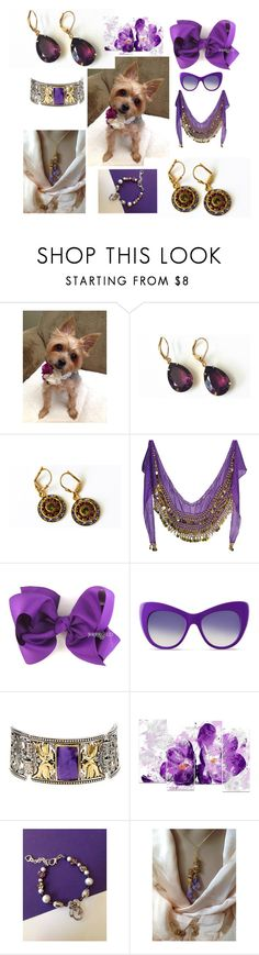 """""""purple beauties"""" by mabellerosedesigns ❤ liked on Polyvore featuring STELLA McCARTNEY, Konstantino and Design Art"""