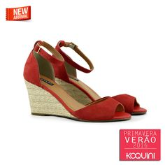 Seu Natal merece cores nos pés, que tal? #koquini #sapatilhas #euquero #anabela Compre Online: http://koqu.in/1ZlU7Lh