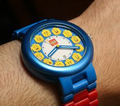 LEGO Launches Wrist Watch Collection For Adults   watch releases