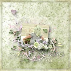 """""""Miss Spring"""" by Doudou's Design, http://www.oscraps.com/shop/Miss-Spring-Full-Kit.html, http://www.mymemories.com/store/display_product_page?id=DDGG-CP-1703-121582, photo Pixabay"""