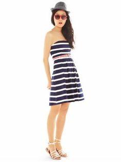 "Summer casual. I like the stripes. Very East Coast ""beachy"""