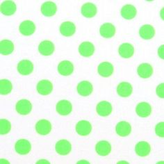 SheetWorld Fitted Pack N Play (Graco) Sheet - Neon Green Polka Dots