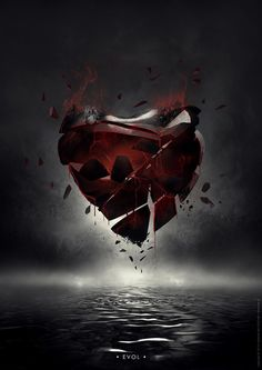 My heart was broken on purpose just to see what was inside
