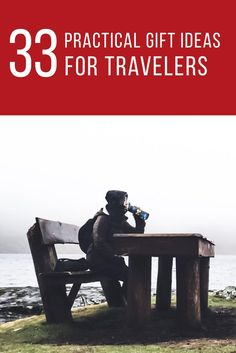 For the holidays this year, we're encouraging minimalism, and with that, practical gifts. So, we've compiled this list of 33 practical gift ideas for travelers to inspire you to shop minimalist and practical for the traveler in your life this holiday season. Click through to find gift ideas now, or pin for later!