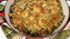Brussels sprout casserole. I make it with butternut squash instead of the sweet potatoes. Its AMAZING! And i don't even like vegetables.