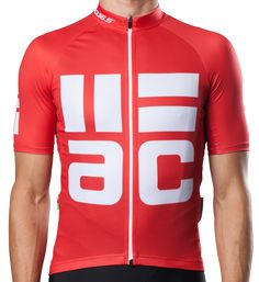 q365 ac short sleeve jersey red front