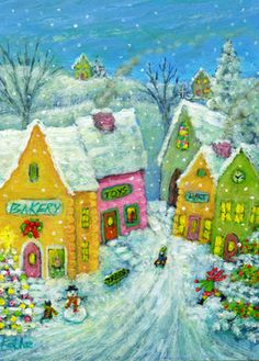 Winter Fun in the Village