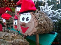 "The Tió de Nadal and popularly called Caga tió (""shitting log"") is a big piece of cut wood , is a character in Catalan mythology relating to a Christmas tradition widespread in Catalonia."