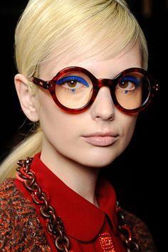 Fall 2012 Anna Sui Eyewear via Anna Sui