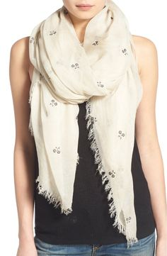 8bf3304258f7 Click to zoom Floral Scarf, Flocking, Nordstrom, Rag And Bone, Accessories,