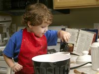 Basic Cooking Skills for Under 5s