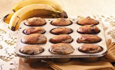 Looking for a yummy Banana Bread recipe? Try Epicure's Chocolate Banana Muffins Lunch Box Recipes, Quick Dinner Recipes, Lunch Snacks, Healthy Dessert Recipes, Brunch Recipes, Breakfast Recipes, School Snacks, Clean Eating Breakfast, Breakfast Cooking