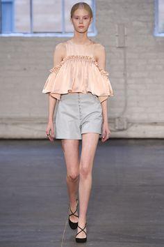 Jill Stuart Spring 2016 Ready-to-Wear Fashion Show - Amalie Schmidt