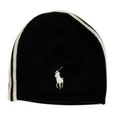 Polo Ralph Lauren Merino Race Stripe Hat #VonMaur #ColdWeather #RalphLauren #PoloRalphLauren