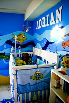 The Baby Boy Nursery by yellowbrother, via Flickr
