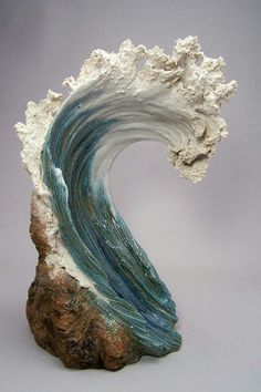 Ocean Inspired Ceramic sculpture