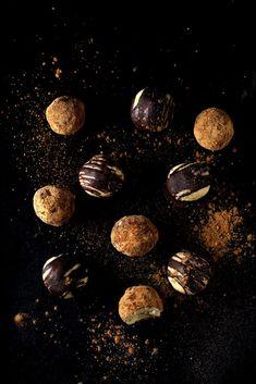White Chocolate Maple Truffles