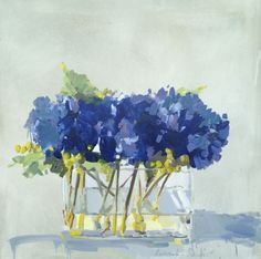 """""""Summer Flowers"""" by Laura Lacambra Shubert at Stellers Gallery"""