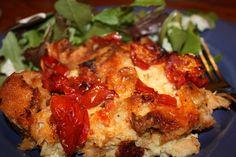 tomato bread pudding by Gourmet Veggie Mama, via Flickr